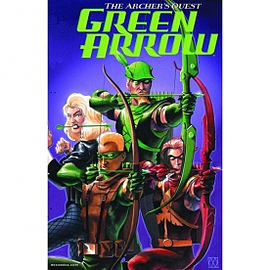 Green Arrow: Archer's Quest Deluxe Edition Hardcover Books