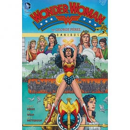 Wonder Woman by George Perez Omnibus Hardcover Books