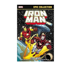 Marvel Iron Man Epic Collection Stark Wars Paperback Books
