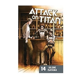 Attack on Titan 14 Paperback Books