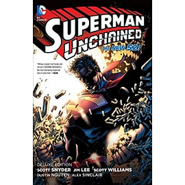 Superman Unchained Hardcover Books
