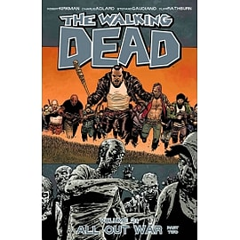 The Walking Dead Volume 21 - All Out War Part 2 Paperback Books