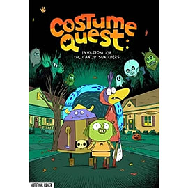 Costume Quest Invasion of the Candy Snatchers Hardcover Books