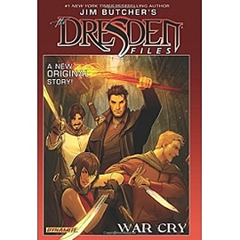 Jim Butcher's Dresden Files War Cry Hardcover Books