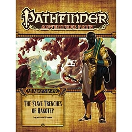 Pathfinder Adventure Path Mummys Mask Part 5 The Slave Trenches of Hakotep Paperback Books
