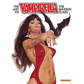 The Art of Vampirella: The Warren Years HC Books