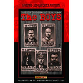 The Boys Volume 6: Self-Preservation Society Limited Edition HC Books