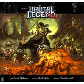 The Art of Brutal Legend Books