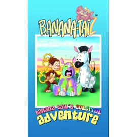 Banana Tails Colorful Adventure Books