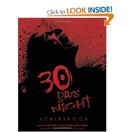 30 Days Of Night: The Movie Scriptbook Books