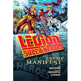 Legion Of Super Heroes Enemy Manifest TP Books
