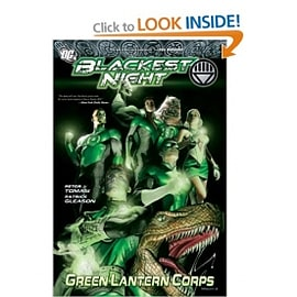 BLACKEST NIGHT GREEN LANTERN CORPS HC Books
