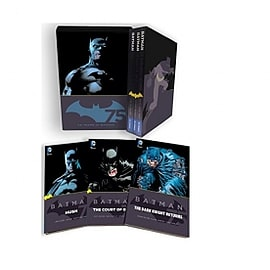 DC Comics Batman 75th Anniversary Special Edition Box Set Books