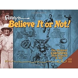 Ripley's Believe It or Not! Daily Cartoons 1929-1930 Hardcover Books