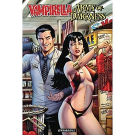Vampirella/Army Of Darkness Books