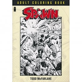Spawn Adult Coloring Book Books