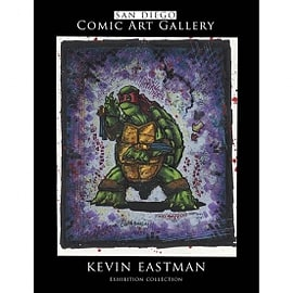 SDCC Art Gallery Kevin Eastman Collection Books
