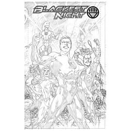 Blackest Night Unwrapped Deluxe Edition Hardcover Books
