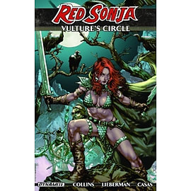 Red Sonja Vulture's Circle Books