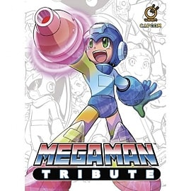 Mega Man Tribute hardcover Books