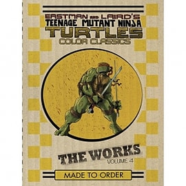 Teenage Mutant Ninja Turtles The Works Volume 4 Books