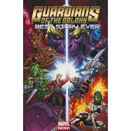Guardians of the Galaxy Best Story Ever Books