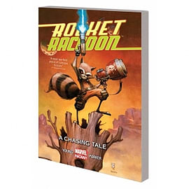Rocket Raccoon Volume 1 A Chasing Tale Books