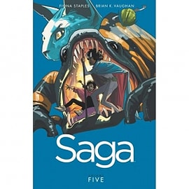 Saga Volume 5 Books