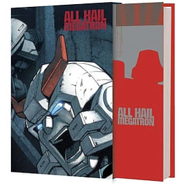 Transformers All Hail Megatron Deluxe Edition Hardcover Books