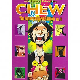 Chew Smorgasbord Edition Volume 2 Hardcover Signed & Numbered Books