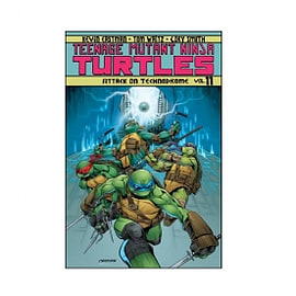 Teenage Mutant Ninja Turtles Volume 11 Attack On Technodrome Books