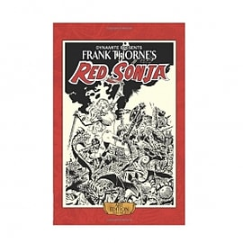 Frank Thorne's Red Sonja Art Edition Volume 2 Hardcover Books