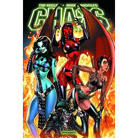 Chaos Graphic Novel Paperback Books