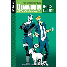 Quantum and Woody Deluxe Edition Book 1 HC Hardcover Books