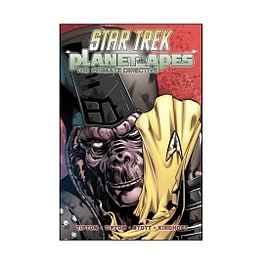 Star Trek Planet Of The Apes The Primate Directive Books