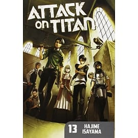 Attack on Titan 13 Paperback Books