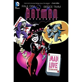 DC Comics Batman Adventures Mad Love Deluxe Edition Hard cover Books