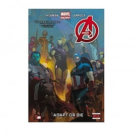 Marvel Now Avengers Volume 5 Adapt or Die Paperback Books