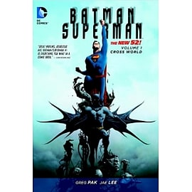 DC Comics Batman Superman Volume 1 The New 52 Cross World Paperback Books