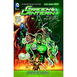 Green Lantern: Volume 5 Test of Wills Hardcover Books
