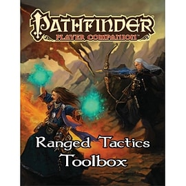 Pathfinder Player Companion Ranged Tactics Toolbox Paperback Books