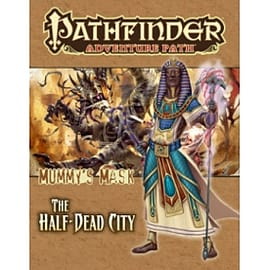 Pathfinder Adventure Path: Mummy's Mask Part 1 - The Half-Dead City Books