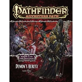 Pathfinder Adventure Path: Wrath of the Righteous Part 3 - Demon's Heresy Books