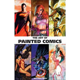 The Art of Painted Comics HC Books
