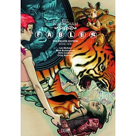 Fables Deluxe Edition HC Vol 01 Books