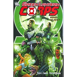 Green Lantern Corps Ring Quest TP Books