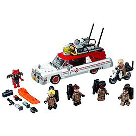 Lego Ghostbusters Ecto-1 and 2 Blocks and Bricks