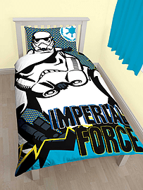 Star Wars Rebels Imperial Single Duvet Cover Set Polycotton Home - Accessories