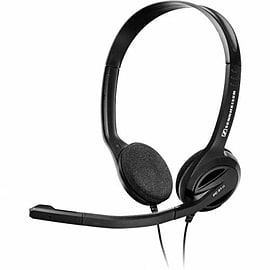 504522 Sennheiser PC 31 - II PC Analogue Headset Range (Over the head, binaural Multimedia headset) Multi Format and Universal