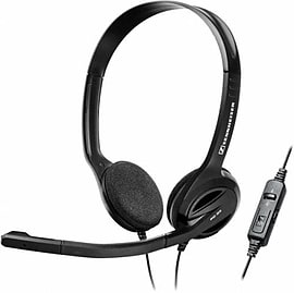 504523 Sennheiser PC 36 CALL CONTROL PC USB Headset Range (Over the head, binaural VoIP USB headset Multi Format and Universal